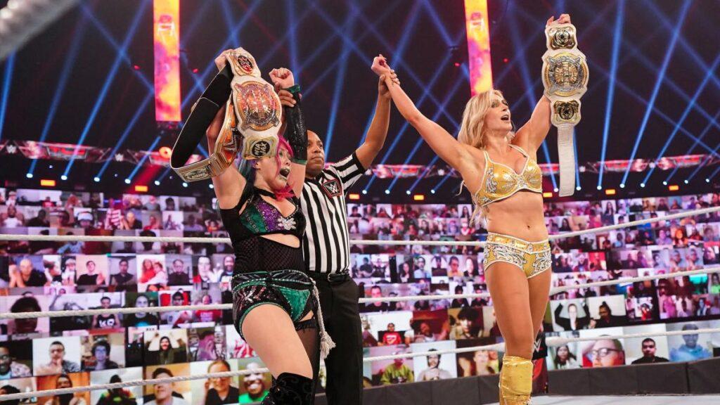Asuka and Flair - WWE.com