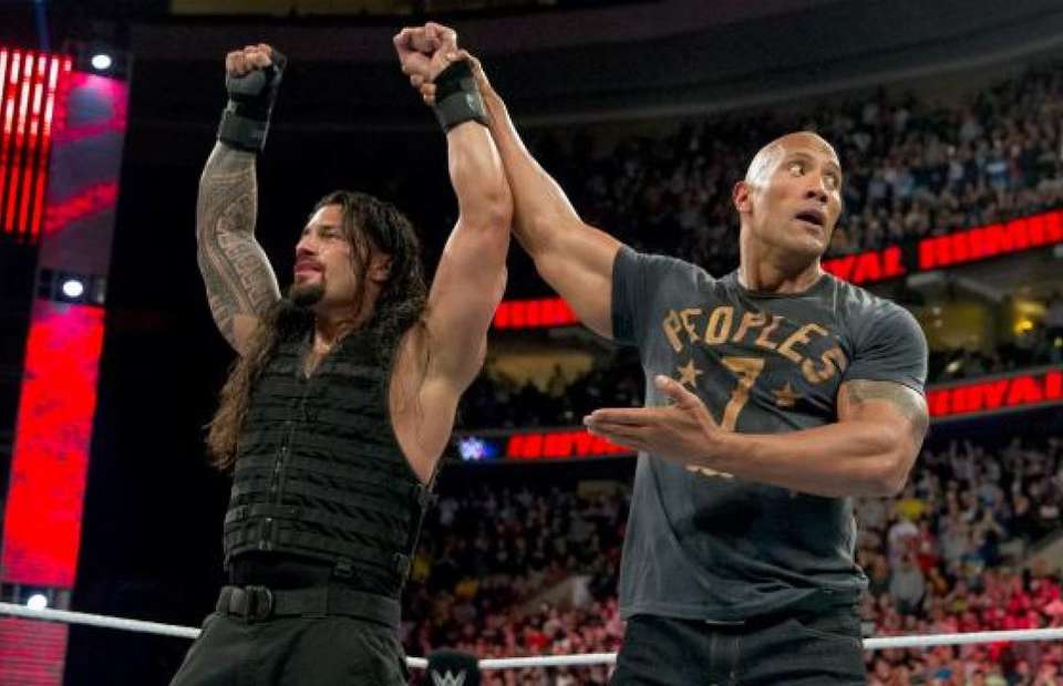 Rock and Roman Reigns - WWE.com