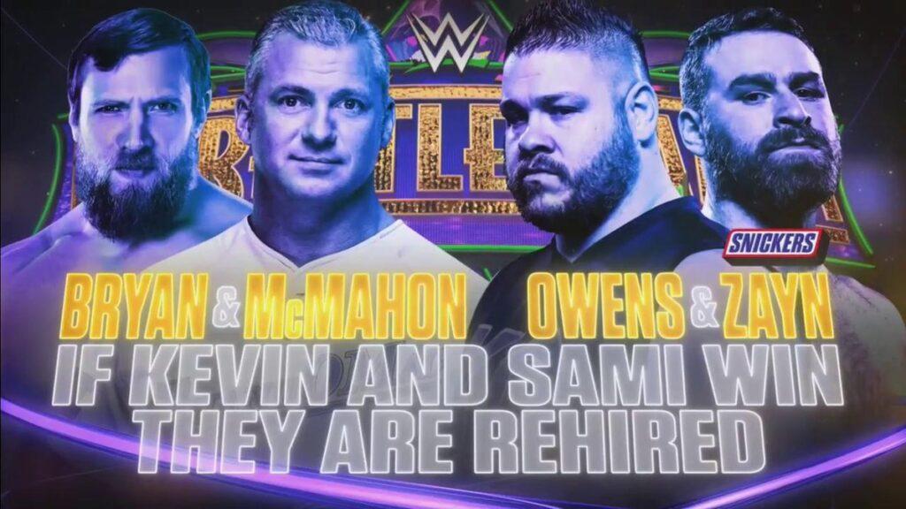 Bray & McMahon vs Owens & Zayn - WWE.com